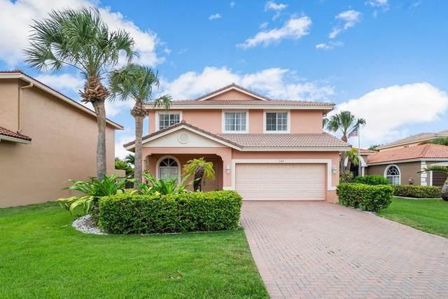 149 Bellezza Terrace, Royal Palm Beach, FL 33411 (#RX-10717933) :: Michael Kaufman Real Estate