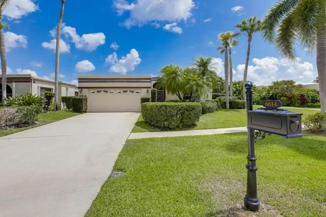 6614 Fountains Circle, Lake Worth, FL 33467 (#RX-10718637) :: The Reynolds Team | Compass
