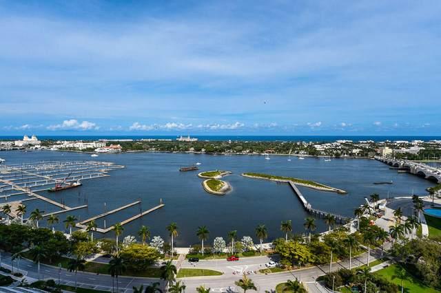 529 S Flagler Drive 16F, West Palm Beach, FL 33401 (#RX-10718899) :: DO Homes Group