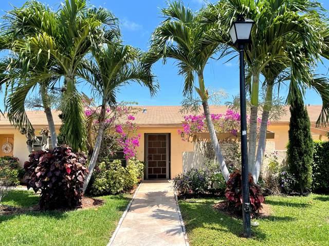 5801 Areca Palm B Court B, Delray Beach, FL 33484 (#RX-10718943) :: Michael Kaufman Real Estate