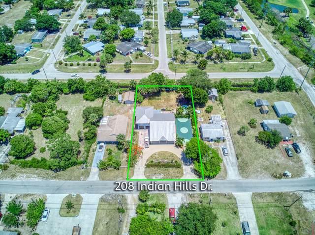208 Indian Hills Drive, Fort Pierce, FL 34982 (#RX-10719067) :: Michael Kaufman Real Estate