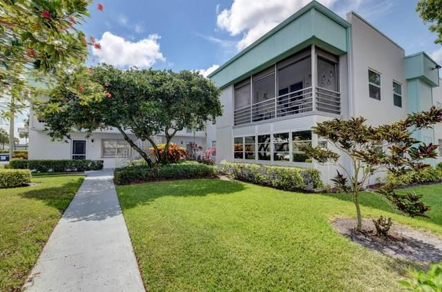 410 Monaco I, Delray Beach, FL 33446 (#RX-10719425) :: Treasure Property Group