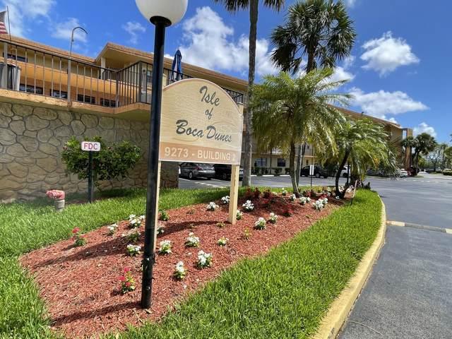 9273 SW 8th Street #416, Boca Raton, FL 33428 (#RX-10719656) :: Michael Kaufman Real Estate
