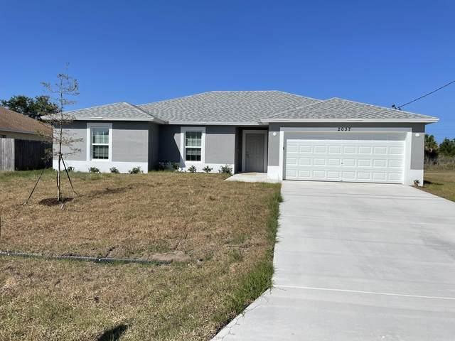 2037 SW Hampshire Lane, Port Saint Lucie, FL 34953 (#RX-10719856) :: Michael Kaufman Real Estate