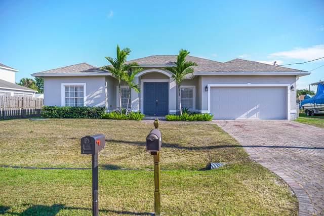 1150 SW Sudder Avenue, Port Saint Lucie, FL 34953 (MLS #RX-10720286) :: Berkshire Hathaway HomeServices EWM Realty