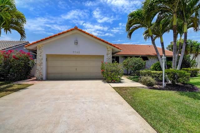 7743 W Country Club Boulevard, Boca Raton, FL 33487 (#RX-10720387) :: Michael Kaufman Real Estate