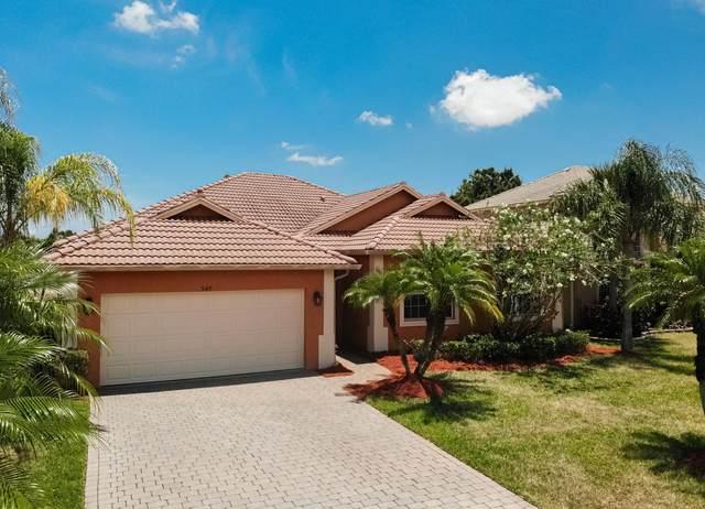 348 NW Sheffield Circle, Port Saint Lucie, FL 34983 (#RX-10720498) :: Michael Kaufman Real Estate