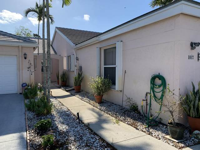 1017 Island Manor Drive, Greenacres, FL 33413 (MLS #RX-10720518) :: Berkshire Hathaway HomeServices EWM Realty