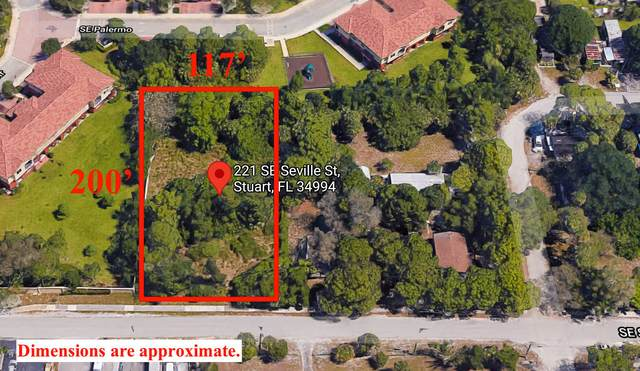 221 SE Seville Street, Stuart, FL 34994 (MLS #RX-10720581) :: Castelli Real Estate Services