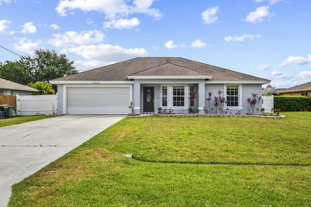 6453 NW Hacienda Lane, Port Saint Lucie, FL 34986 (#RX-10720593) :: Michael Kaufman Real Estate