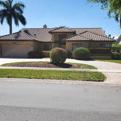 1201 NW 100th Way, Plantation, FL 33322 (MLS #RX-10721070) :: Berkshire Hathaway HomeServices EWM Realty