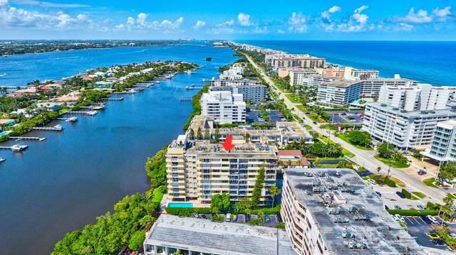 3581 S Ocean Boulevard 4B, South Palm Beach, FL 33480 (#RX-10721265) :: Michael Kaufman Real Estate