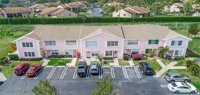 218 Foxtail Drive H, Greenacres, FL 33415 (MLS #RX-10721291) :: Berkshire Hathaway HomeServices EWM Realty