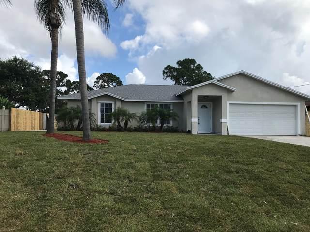 2589 SW Barber Lane, Port Saint Lucie, FL 34984 (#RX-10721595) :: Michael Kaufman Real Estate
