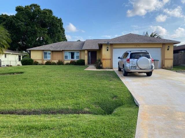 1072 SE Seagrass Avenue, Port Saint Lucie, FL 34983 (#RX-10721671) :: Michael Kaufman Real Estate