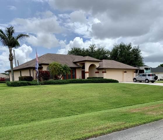 152 SW Gettysburg Drive, Port Saint Lucie, FL 34953 (#RX-10721717) :: Michael Kaufman Real Estate
