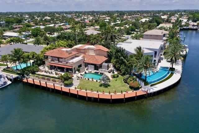 2850 NE 44th Street, Lighthouse Point, FL 33064 (#RX-10721861) :: Michael Kaufman Real Estate
