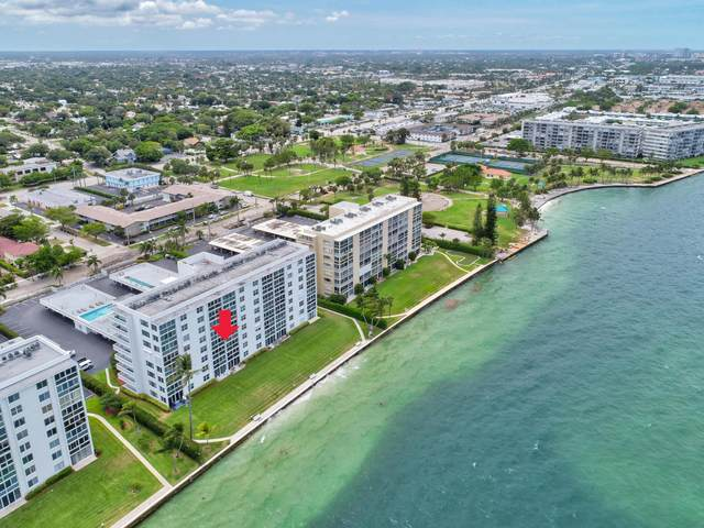 401 Lake Shore Drive #305, Lake Park, FL 33403 (MLS #RX-10721993) :: Castelli Real Estate Services