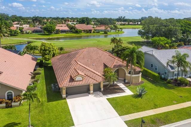 10345 Canoe Brook Circle, Boca Raton, FL 33498 (#RX-10722000) :: Michael Kaufman Real Estate