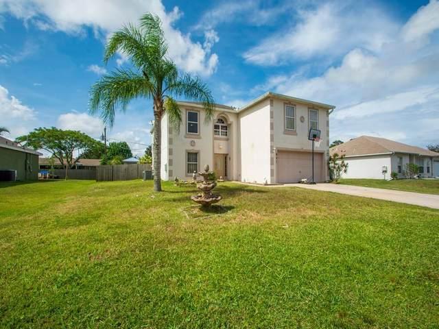 401 SW Lakehurst Drive, Port Saint Lucie, FL 34984 (#RX-10722064) :: Michael Kaufman Real Estate