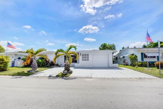 1465 NW 66th Terrace, Margate, FL 33063 (MLS #RX-10722231) :: Berkshire Hathaway HomeServices EWM Realty