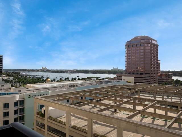 801 S Olive Avenue #808, West Palm Beach, FL 33401 (#RX-10722600) :: Michael Kaufman Real Estate