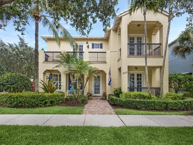 206 Botanica Drive, Jupiter, FL 33458 (#RX-10722627) :: Michael Kaufman Real Estate