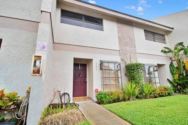 2720 S Oakland Forest Drive #907, Oakland Park, FL 33309 (MLS #RX-10722965) :: Castelli Real Estate Services