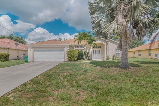 3282 SW Escarole Street, Port Saint Lucie, FL 34953 (#RX-10723012) :: Michael Kaufman Real Estate
