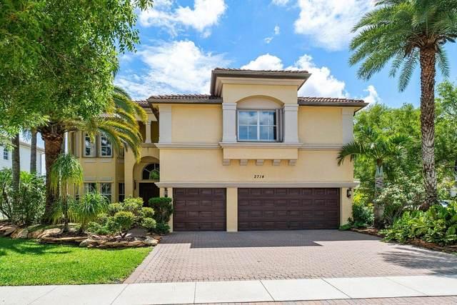2714 Eleanor Way, Wellington, FL 33414 (MLS #RX-10723045) :: Berkshire Hathaway HomeServices EWM Realty