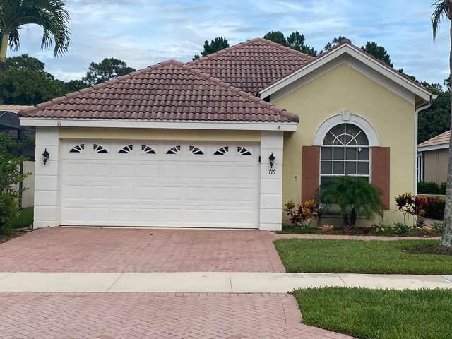 716 SW Munjack Circle, Port Saint Lucie, FL 34986 (#RX-10723055) :: Michael Kaufman Real Estate