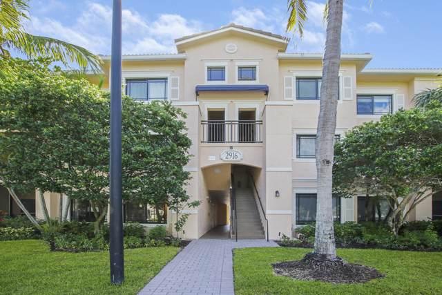 2916 Tuscany Court #105, Palm Beach Gardens, FL 33410 (MLS #RX-10723111) :: Berkshire Hathaway HomeServices EWM Realty