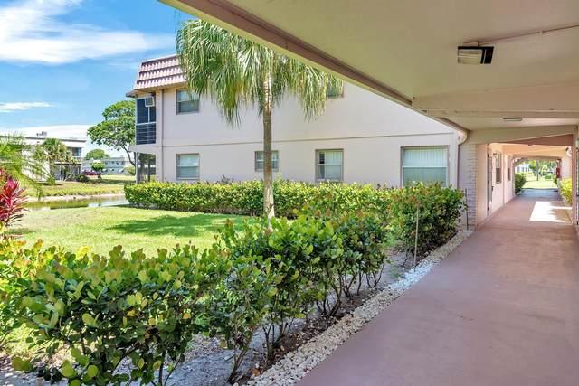 356 Saxony H, Delray Beach, FL 33446 (MLS #RX-10723415) :: Dalton Wade Real Estate Group