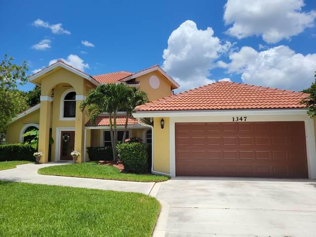 1347 SW Maplewood Drive, Port Saint Lucie, FL 34986 (MLS #RX-10723526) :: Berkshire Hathaway HomeServices EWM Realty