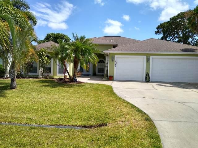 2122 SE Dolphin Road, Port Saint Lucie, FL 34952 (MLS #RX-10723529) :: Berkshire Hathaway HomeServices EWM Realty