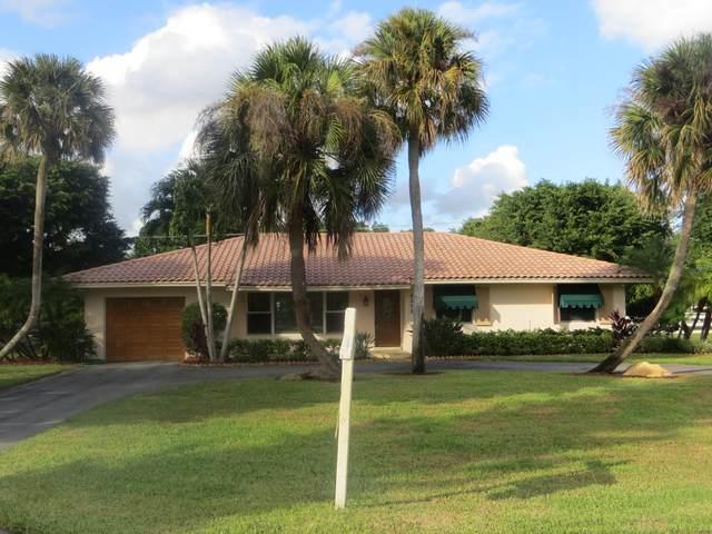 4375 Frances Drive, Delray Beach, FL 33445 (MLS #RX-10723555) :: Berkshire Hathaway HomeServices EWM Realty