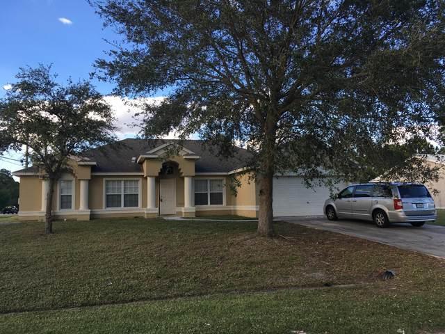 785 SW Arkansas Terrace, Port Saint Lucie, FL 34953 (#RX-10723558) :: Michael Kaufman Real Estate