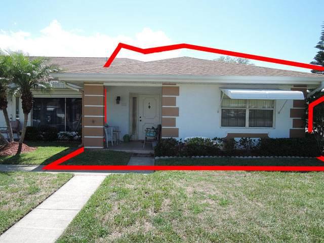 317 Colony Lane D, Fort Pierce, FL 34982 (MLS #RX-10723569) :: Berkshire Hathaway HomeServices EWM Realty