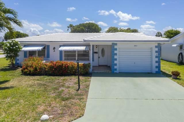 2901 NW 1st Drive, Pompano Beach, FL 33064 (MLS #RX-10723624) :: Castelli Real Estate Services