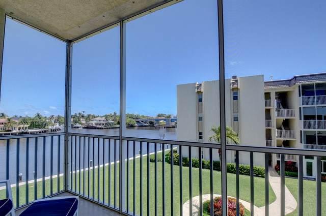 650 Snug Harbor Drive G 304, Boynton Beach, FL 33435 (#RX-10723629) :: Michael Kaufman Real Estate