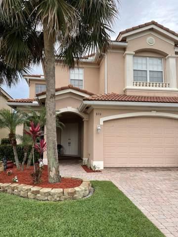 870 NW Leonardo Circle, Port Saint Lucie, FL 34986 (#RX-10724268) :: Michael Kaufman Real Estate