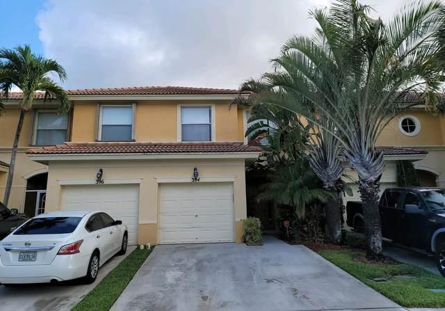 394 River Bluff Lane, Royal Palm Beach, FL 33411 (#RX-10724299) :: Heather Towe | Keller Williams Jupiter