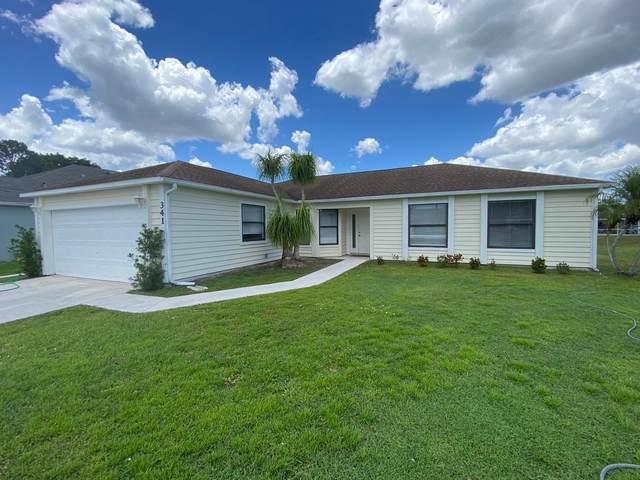 341 SE Fisk Road, Port Saint Lucie, FL 34984 (#RX-10724303) :: Michael Kaufman Real Estate