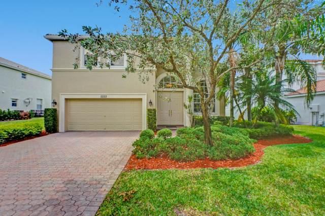 2222 Sloane Place, Wellington, FL 33414 (MLS #RX-10724354) :: Berkshire Hathaway HomeServices EWM Realty