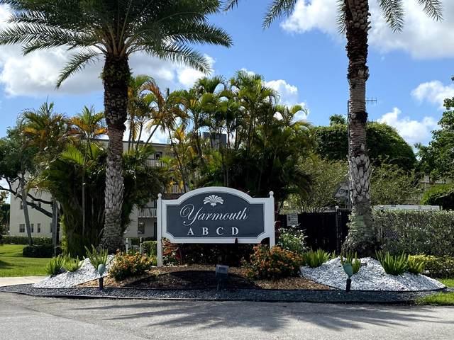 2042 Yarmouth C, Boca Raton, FL 33434 (#RX-10724360) :: Real Treasure Coast
