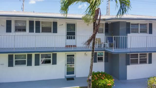 1111 Lake Terrace #208, Boynton Beach, FL 33426 (#RX-10724441) :: The Rizzuto Woodman Team