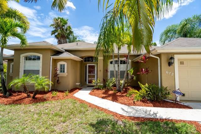 672 SE Sweetbay Avenue, Port Saint Lucie, FL 34983 (#RX-10724515) :: Michael Kaufman Real Estate