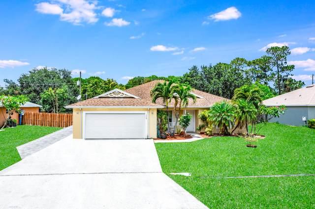 1049 SW Payne Avenue, Port Saint Lucie, FL 34953 (#RX-10724533) :: Michael Kaufman Real Estate