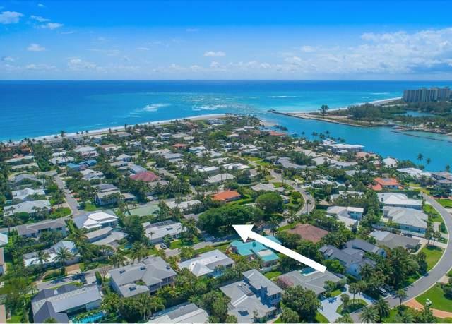 180 Beacon Lane, Jupiter Inlet Colony, FL 33469 (MLS #RX-10724764) :: The DJ & Lindsey Team