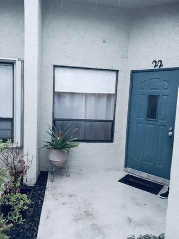 4518 Corniche Circle #22, West Palm Beach, FL 33417 (#RX-10724772) :: Posh Properties